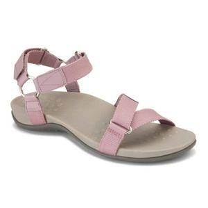 Vionic Candace Mauve Lilac Adjustable Sandals NEW